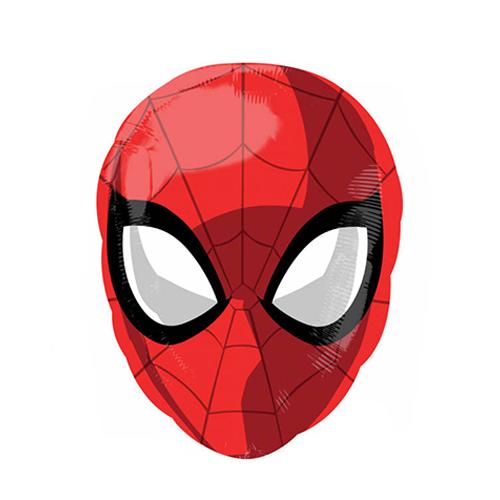 palloncino spiderman maschera