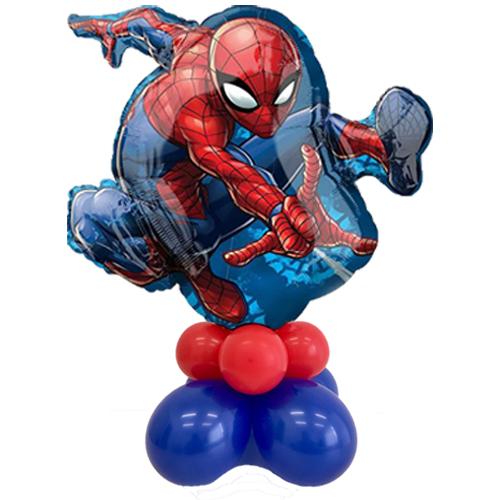 palloncino spiderman tavolo grande