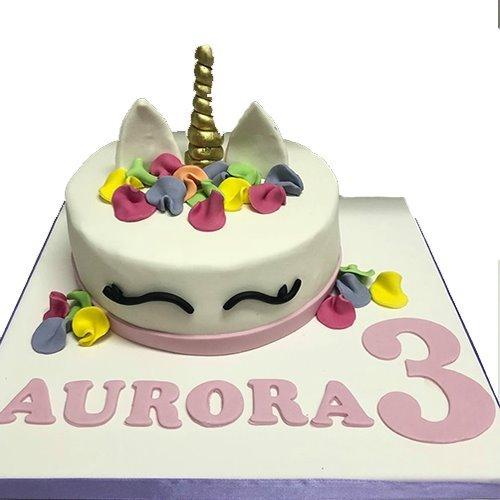 torta cake design unicorno
