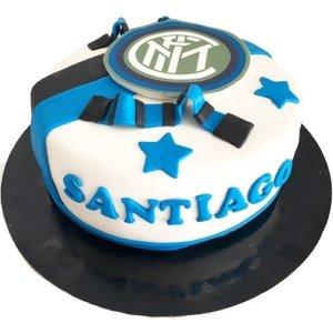 torta calcio inter
