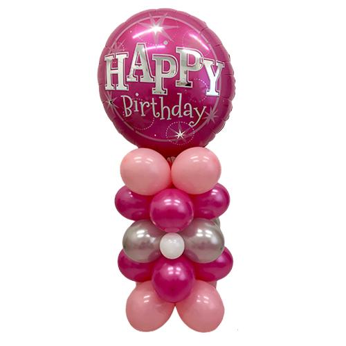 colonna di palloncino compleanno