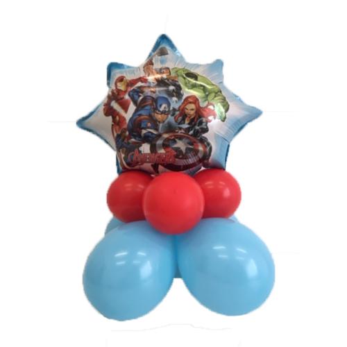 composizione palloncini avengers